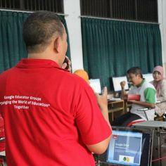 berbagi ilmu itu menyenangkan workshop peningkatan kompetensi TIK guru SMKN 3 Malang