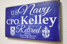 Honor your veteran or retirees time of service in the Air Force, Army, Navy, Coast Guard, or Marines. This military sign is the perfect gift to give a