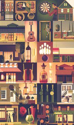 Various Illustration 2017 on Behance