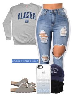 """""""1/15/16"""" by codeineweeknds ❤ liked on Polyvore featuring Birkenstock, Aéropostale, Lacoste and Casetify"""