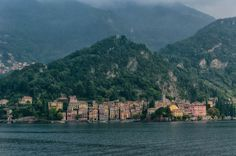 Como Lake. - The view of colorful buildings in Varenna, Como Lake, Italy. #italy #500px #como #lake #lago