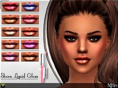 Sims Addictions: Sheen Liquid Gloss by Margies Sims • Sims 4 Downloads