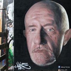 "Manchester, UK.   Brilliant ""Breaking Bad"" Street Art From Around The World"
