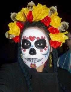 Mexican Cosplay Costume Dia de los Muertos Day by DivaWearDesigns, $65.00