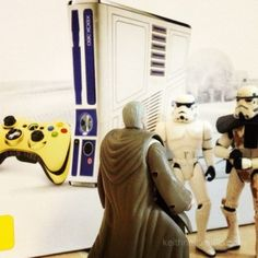 This isn't the Xbox you're looking for - Star Wars Xbox 360