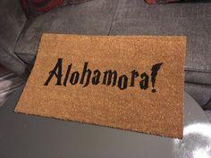 Alohamora Doormat Wizard gift Potter gift Door Mat