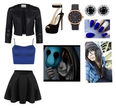 Eyeless jack / creepypasta By: Kelsey C. by kelseyclark70 on Polyvore featuring polyvore, WearAll, Prada, Marc Jacobs, fashion, style and clothing