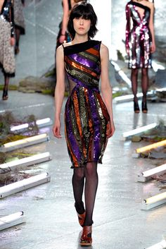 Rodarte Fall 2015 Ready-to-Wear Fashion Show - Mae Mei Lapres