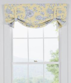 ombre woven stripe lined sash valance