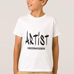 artist funny t-shirt - professional gifts custom personal diy