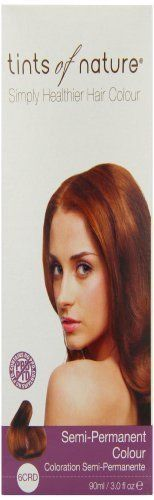 Tints of Nature Organic Copper Red Semi Permanent Hair Colour 90ml by Tints Of Nature ** Check out this great article. #hairaccessories