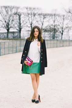 The perfect winter/spring/summer outfit via Vanessa Jackman