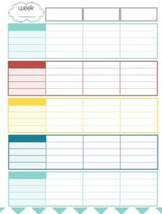 INSTANT DOWNLOAD Monthly Bill Organizer - Printable PDF