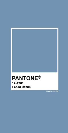 Pantone 2020 Spring/Summer : Faded Denim , pantone 2020 , faded denim, b. - 2020 Fashions Womens and Man's Trends 2020 Jewelry trends Paleta Pantone, Pantone Blue, Pantone Colour Palettes, Pantone 2020, Pantone Color, Colour Pallette, Colour Schemes, Color Trends, Most Beautiful Wallpaper