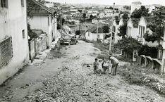 Rua Claudino Inácio Joaquim, Tucuruvi, em 1958