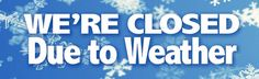 Notice: BOTH locations are CLOSED TODAY, Friday, Jan 6th, bc of the slippery road conditions! BE SAFE if you're traveling!! #GasLampStores