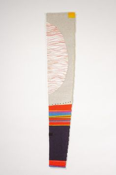 Fiona Rutherford | Time to Dance | cotton + linen | 98 cm x 18 cm | Newcastle-Upon-Tyne, England | 2010