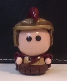 Back up on Etsy! Doctor Who  Rory Williams Miniature by MoldedByMe on Etsy, $10.00