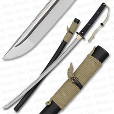 A good sword is paramount. Granted there are better ones out there, but this is still folded plus hilt and scabbard constructed of weather proof materials.