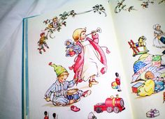 The Night Before Christmas - Illustrated by Rene Cloke - Vintage Book