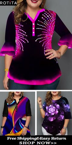 Plus Size Tops online for sale Looks Plus Size, Plus Size Tops, Curvy Outfits, Fashion Outfits, Womens Trendy Tops, Dress Attire, Latest African Fashion Dresses, Plus Size Dresses, Beautiful Outfits
