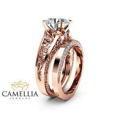 Camellia-Jewelry 14K