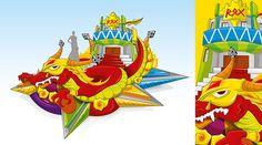 REX - Carroza Carnaval de Barranquilla 2013
