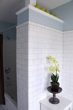 White Subway Tile Design Ideas, Pictures, Remodel, and Decor - page 36