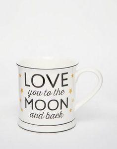Sass & Belle Golden Stars Mug