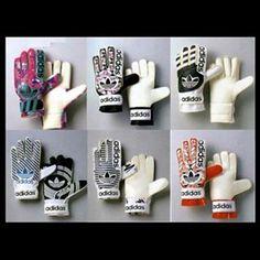 1995 @adidasfootball @adidasoriginals #classicgloves Great range of #trefoil gloves