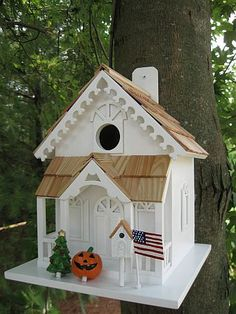 Holiday Series Season's Tweetings Bird House