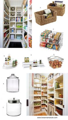 I am reorganizing my pantry this weekend and needed some inspiration! The first thing on my list is baskets. Baskets are perfect for storing snacks, veggies, etc. But what I'm most looking forwar...