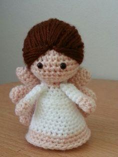 Amigurumi crochet Angel - Simone