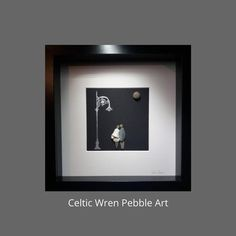Dublin Nights, a pebble art couple handcrafted in Ireland. Street Lamp, Make A Gift, Couple Art, Gold Ink, Wren, Engagement Gifts, Box Frames, Pebble Art, Friends In Love