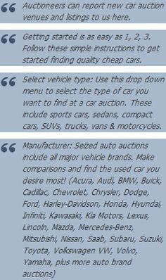 Seized Cars For Sale #auction #auto #seized #Car