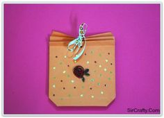 Quilling Rose bag for Gift
