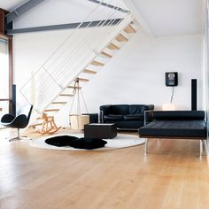 Japanese minimalism in Denmark  Charlotte and her husband Niels decorated their loft with a sense of Japanese minimalism.