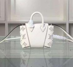 Louis Vuitton Nano W Bag White White Louis Vuitton Bag, Louis Vuitton Damier, Designer Bags For Less, White Purses, Monogram Canvas, Bag Sale, Handbags, Wallet, Mom
