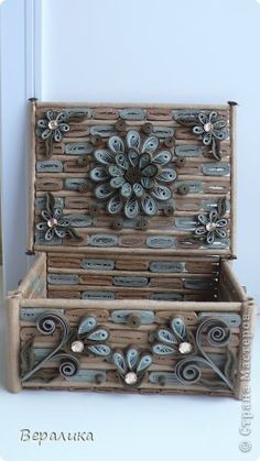 Quilling examples - Box
