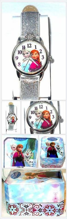 Disney Frozen Anna and Elsa Glitter Watch USA Seller Christmas In July #ebay http://stores.ebay.com/JEWELRY-AND-GIFTS-BY-ALICE-AND-ANN