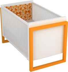 Campaign II Crib - Upholstered - DucDuc