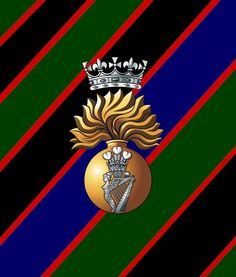 Royal Irish Fusiliers Military Units, Military History, British Army Regiments, Irish Americans, Military Stickers, Military Insignia, Princess Victoria, Crests, Armed Forces