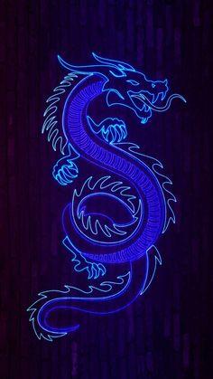 Neon Dragon IPhone Wallpaper - IPhone Wallpapers