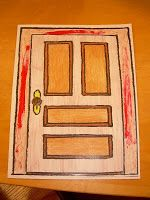 Hands On Bible Teacher plagues - cute idea. paint the doorframe-The door can open and inside we see the Hebrews sitting down to their Passover dinner. & The Painted Door- a hands-on way to teach kids the Passover story ...