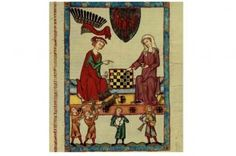 Margrave Otto IV of Brandenburg playing chess, 1305-40. Found in the collection of the Library of the Ruprecht Karl University, Heidelberg. (Photo by Fine Art Images/Heritage Images/Getty Images)