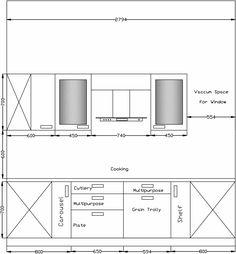 kitchen measurements in ergonomics - Google Search