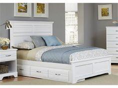 Carolina Furniture Works, Inc. Carolina Cottage Princess Four Poster Bed K  | New Home | Pinterest | Carolina Furniture
