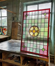 Stained glass windows   Light Leaded Designs   Rossendale Victorian Stained Glass Panels, Modern Stained Glass, Stained Glass Door, Making Stained Glass, Stained Glass Projects, Selling Crafts Online, Craft Online, Window Maker, Door Accessories