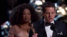 """Graham Moore winning Best Adapted Screenplay for """"The Imitation Game"""""""