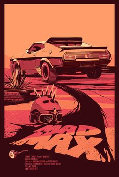 """by Mike Wrobel: """"Mad Max""""."""